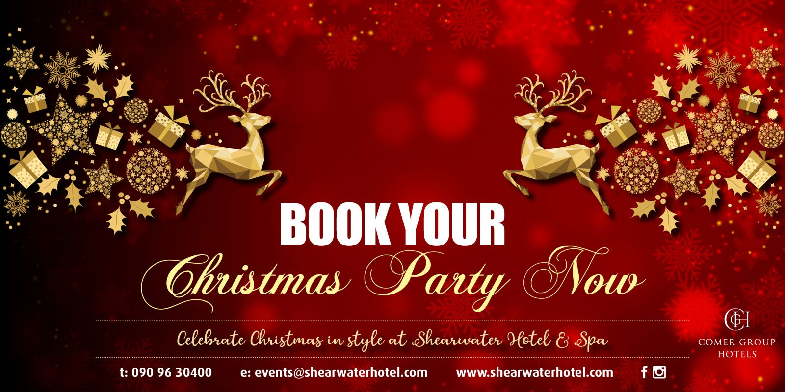 Christmas party Banner Image 2 BOOK NOW