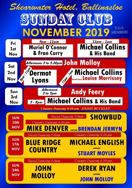november country music 2019