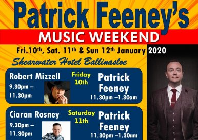 Patrick Feeney Music Weekend